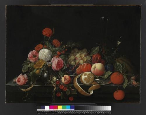 Flowers and still-life, by Cornelis de Heem